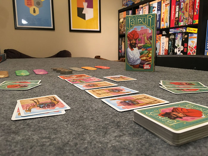 Jaipur game setup
