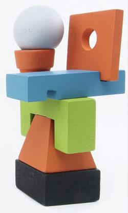 Junk Art colors and shapes