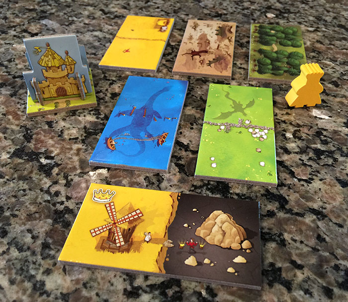 Kingdomino landcape tiles