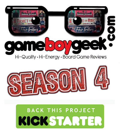 Game Boy Geek Season 4 Kickstarter campaign logo