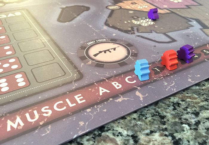 Advancing on the muscle track