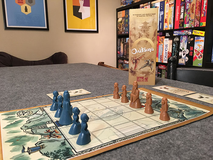 Onitama game setup