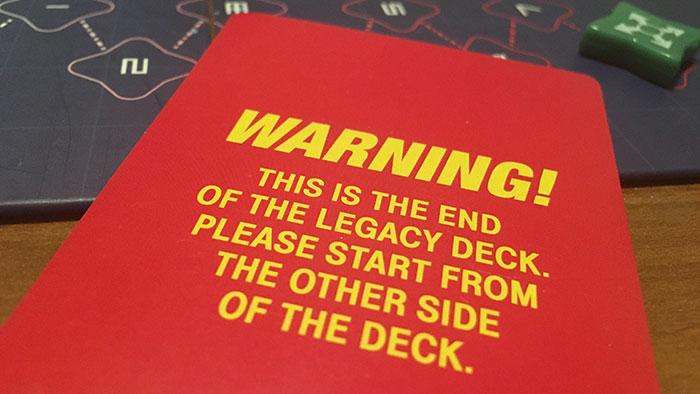 Pandemic Legacy deck