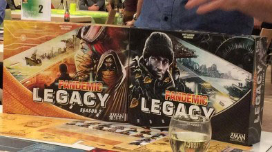 Pandemic Legacy: Season 2 covers