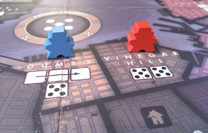 Placing dice