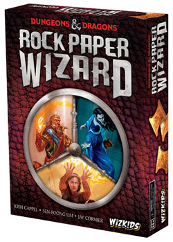 D&D: Rock Paper Wizard cover
