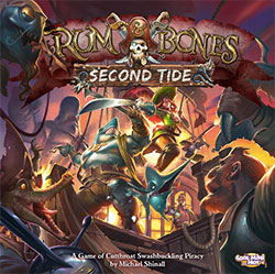 Rum and Bones: Second Tide cover