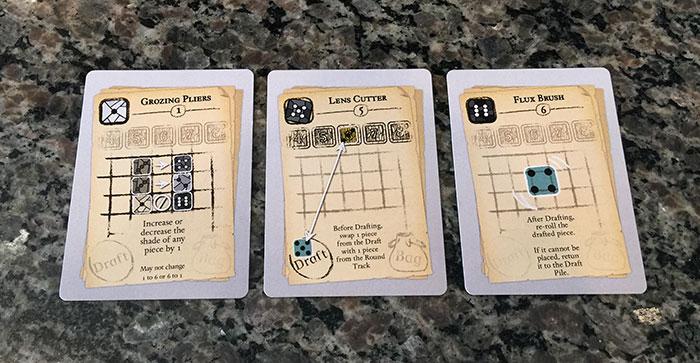 Sagrada tool cards