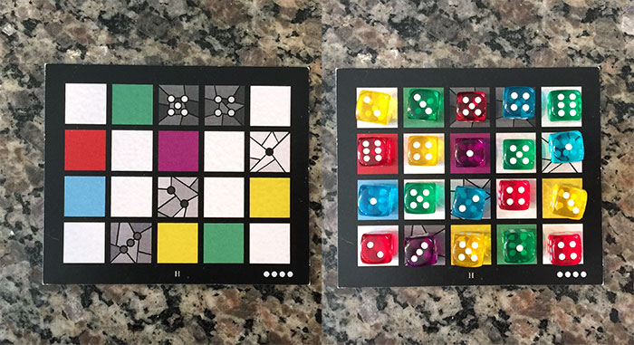Sagrada window frame cards