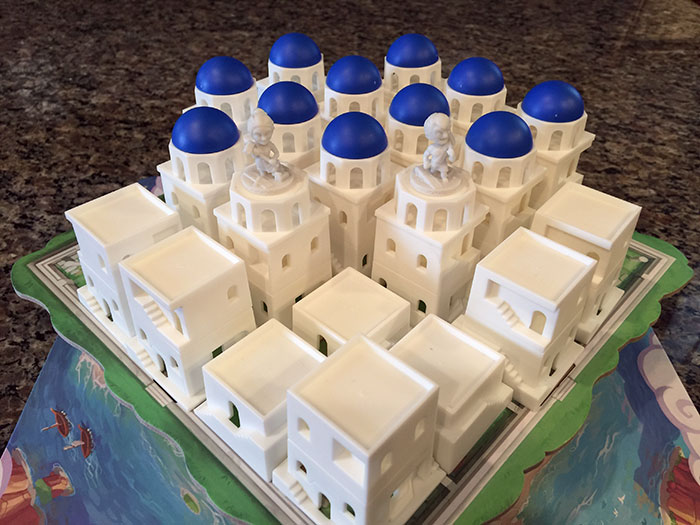 Santorini building blocks