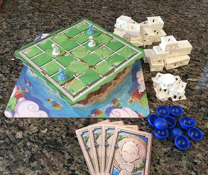 Santorini game setup
