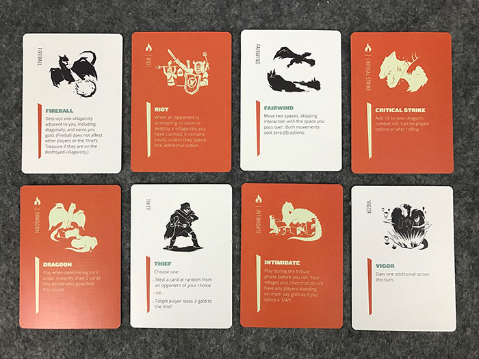Dragoon special action cards