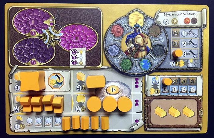 Terra Mystica player board