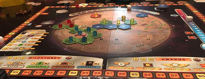 Terraforming Mars final board