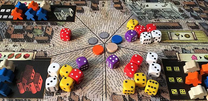 Gameplay closeup