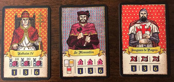 Troyes bonus cards