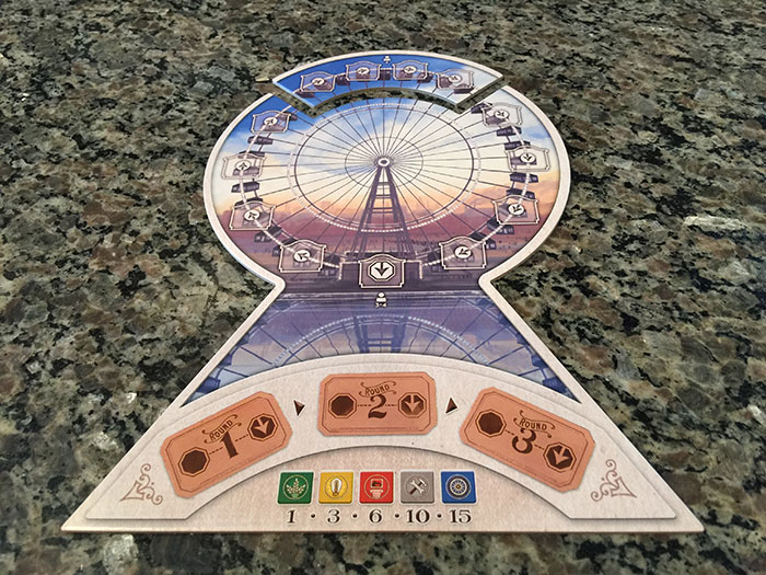 The world's first Ferris Wheel