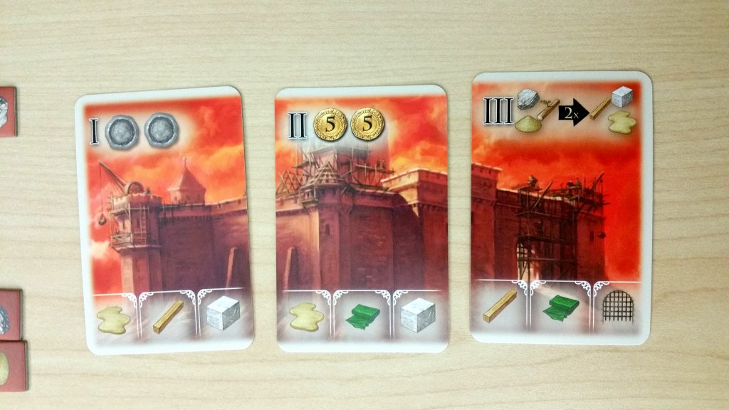 The Pillars of the Earth: Builders Duel start buildings