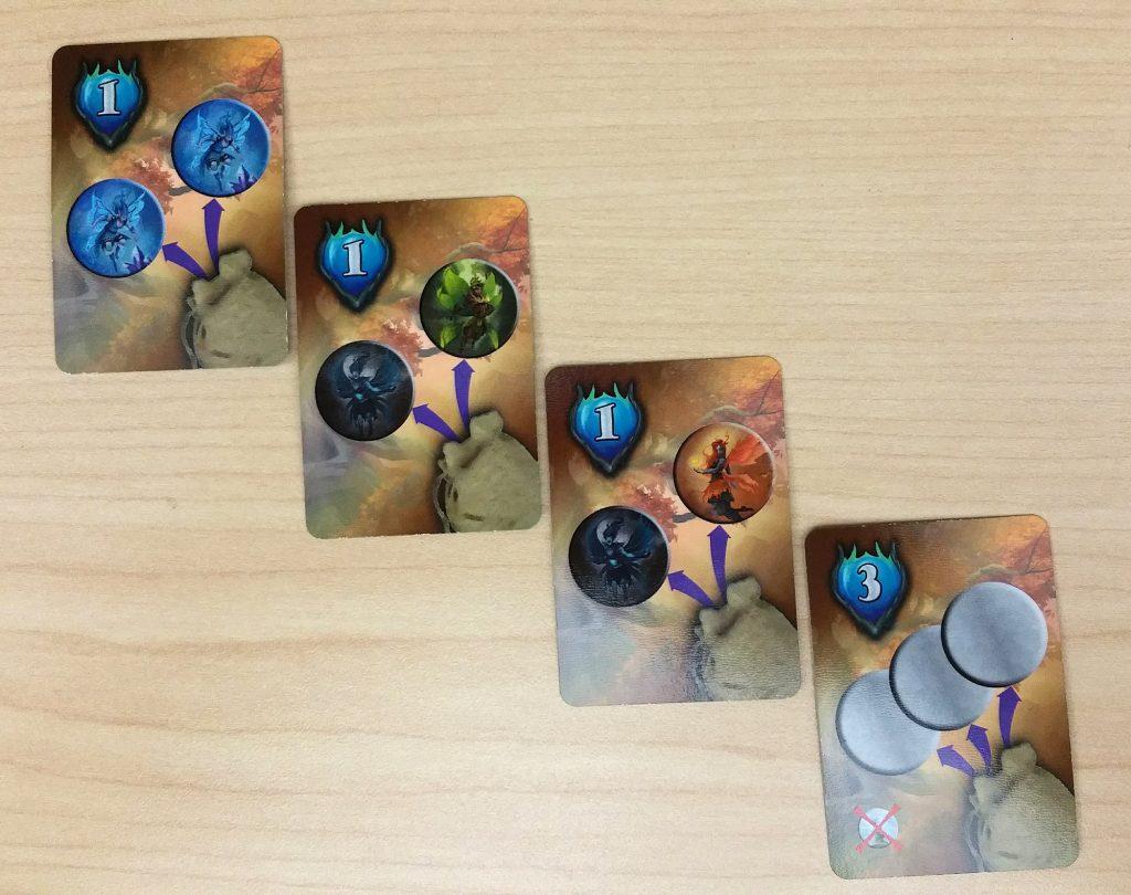 Summoning bonus cards