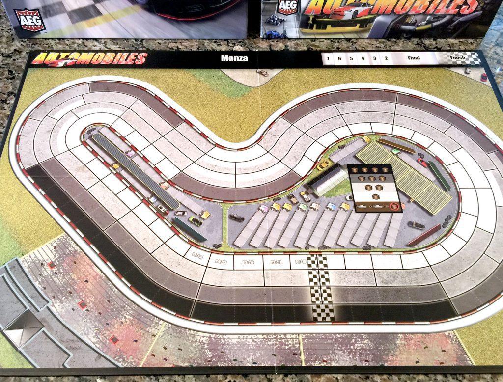 Automobiles Monza track