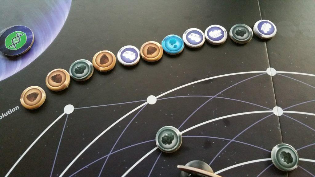 Planetarium evolution track