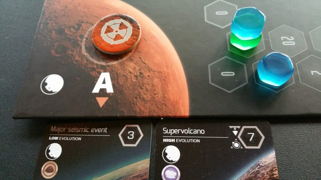 Planetarium evolving planet