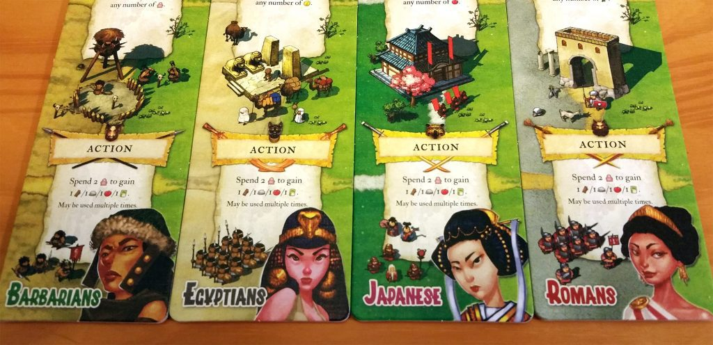 Imperial Settlers factions