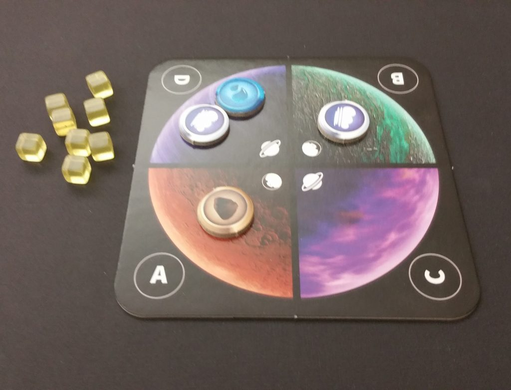 Planetarium player board