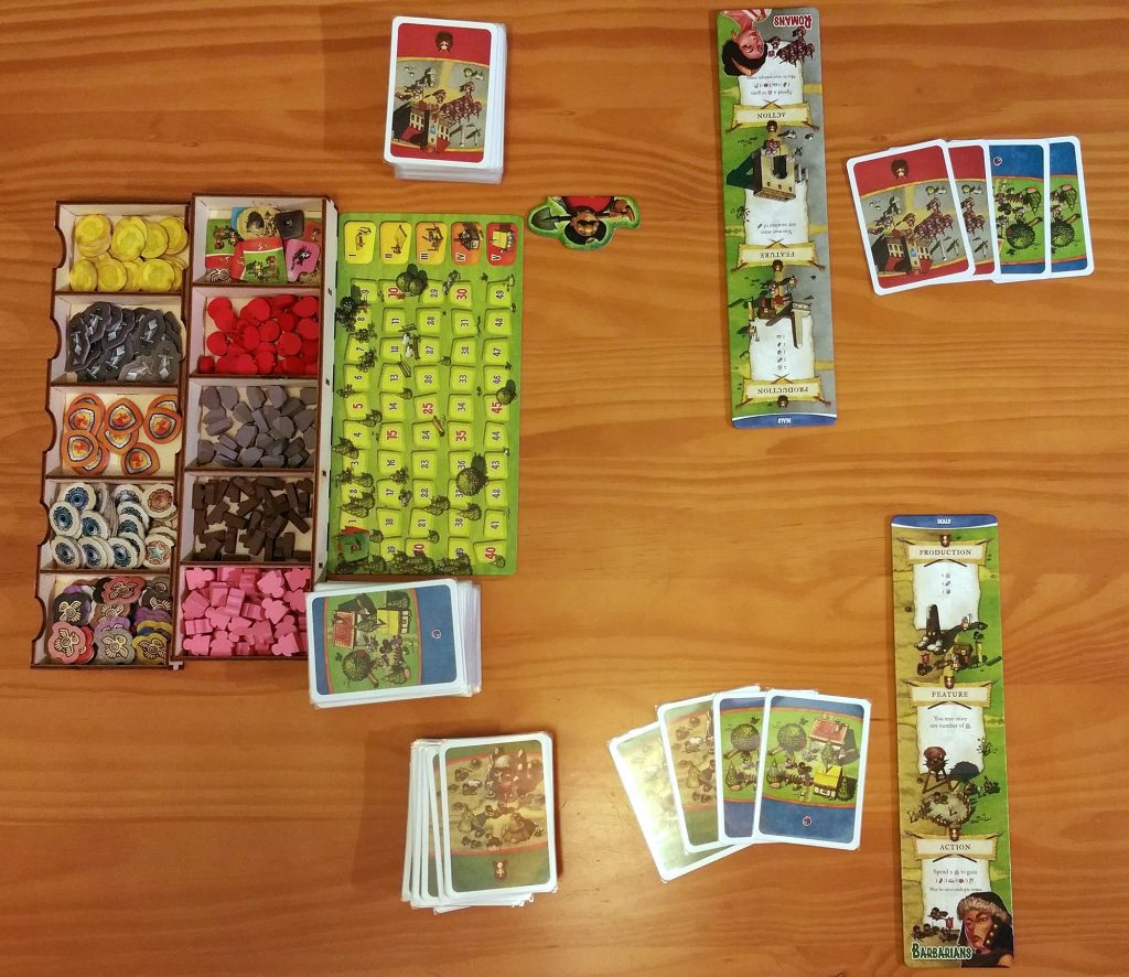 Imperial Settlers setup