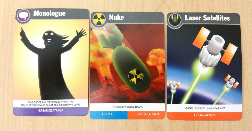 Attack cards