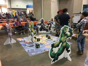 Giant King of Tokyo at Gen Con 2016.