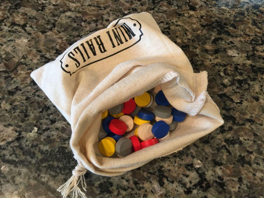Mini Rails bag and company discs