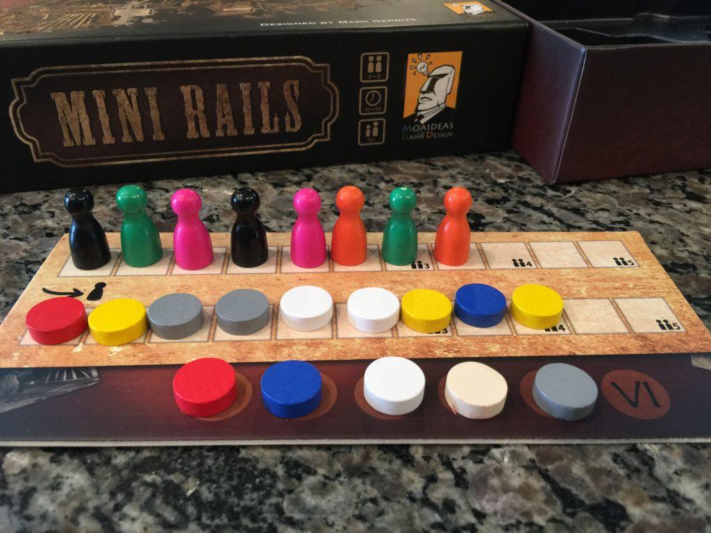 Mini Rails end of game scoring