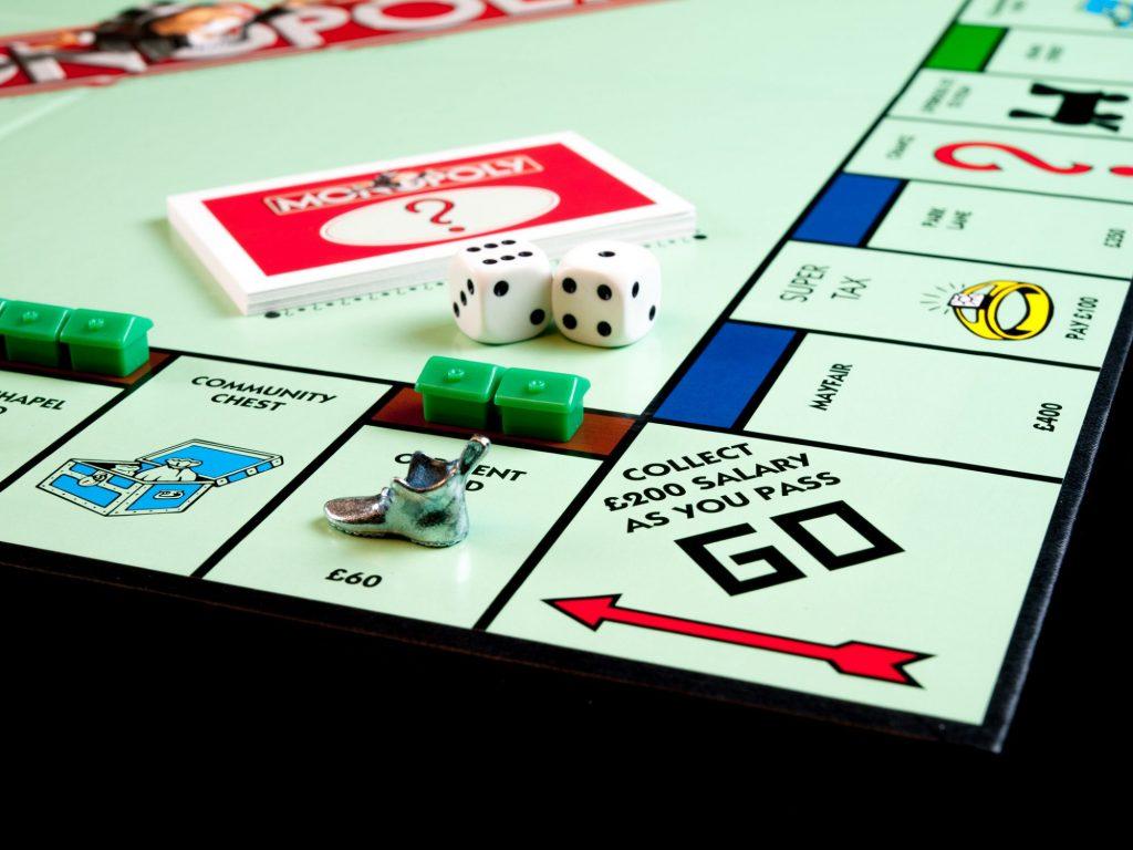 Monopoly close up
