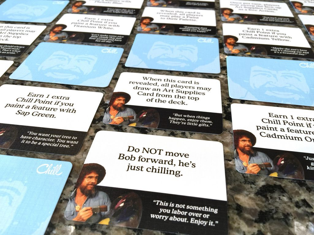 Bob Ross Art of Chill - chill cards