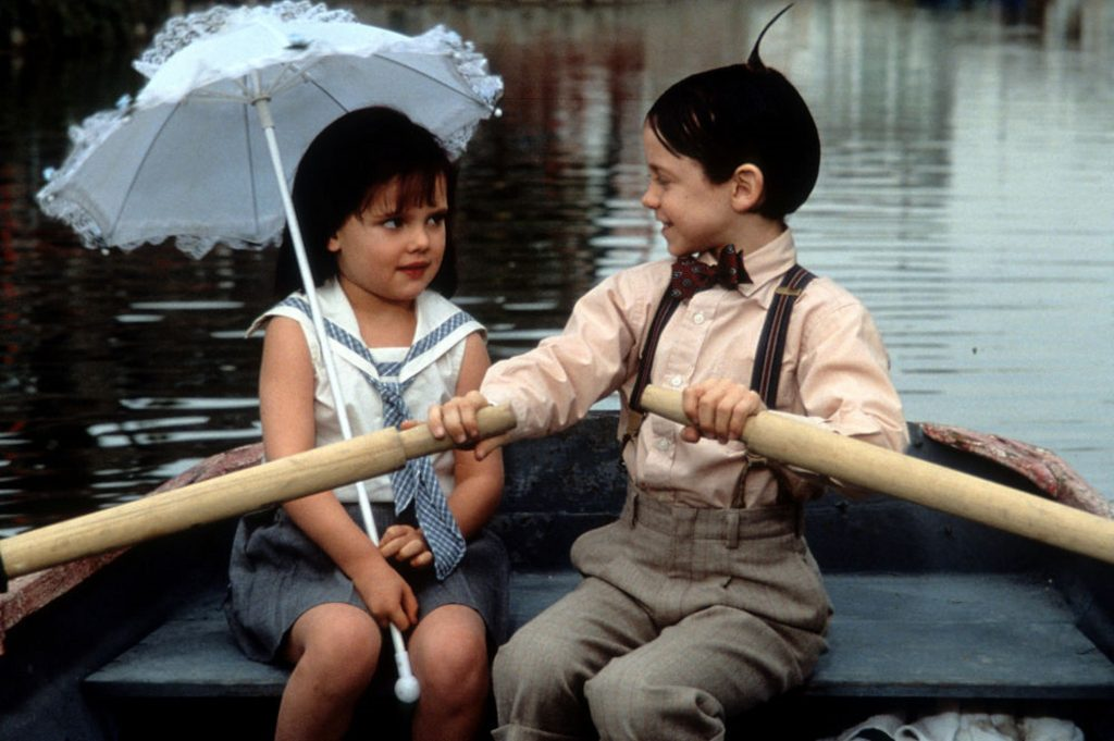 Little Rascals in love
