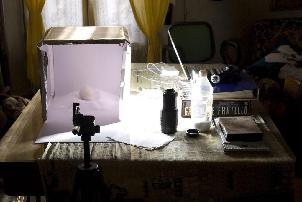Product shot setup