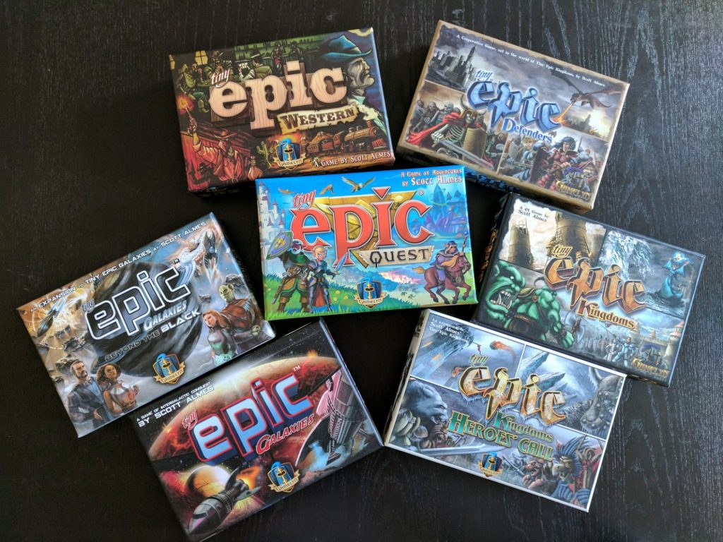 Tiny Epic Quest Review: Big Game, Little Box   Meeple Mountain