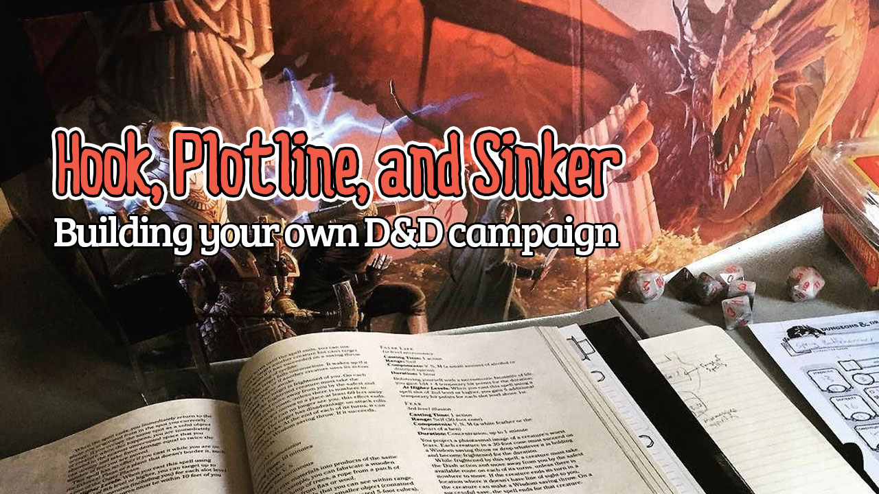 Hook, Plotline, and Sinker header