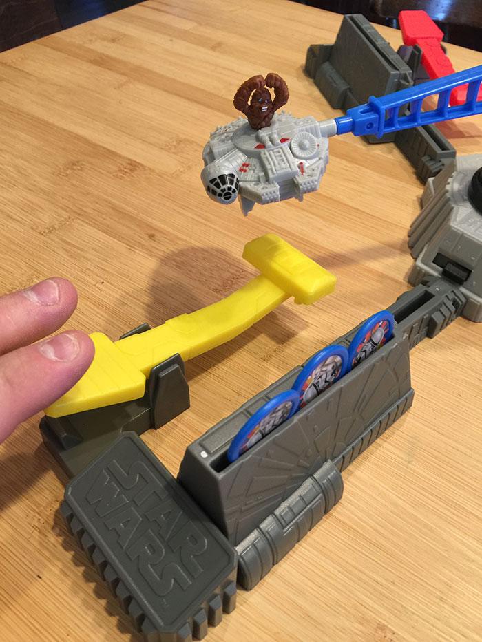 Loopin' Chewie lever