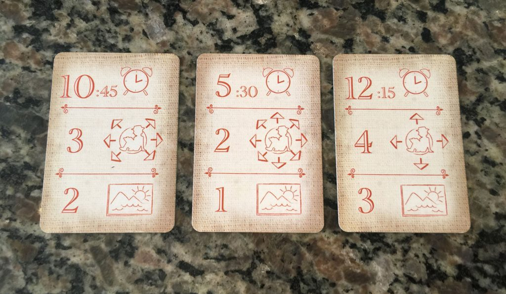 Planning cards