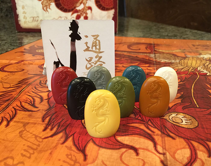 Tsuro pieces