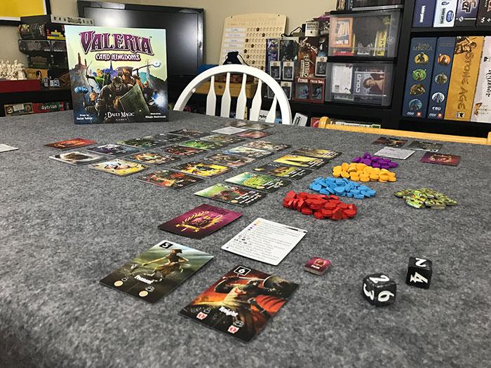 Valeria Card Kingdoms setup