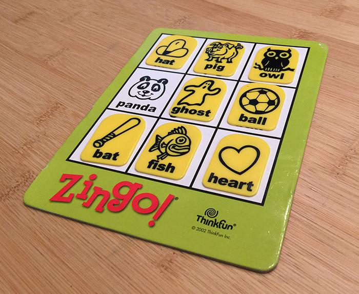 Zingo board