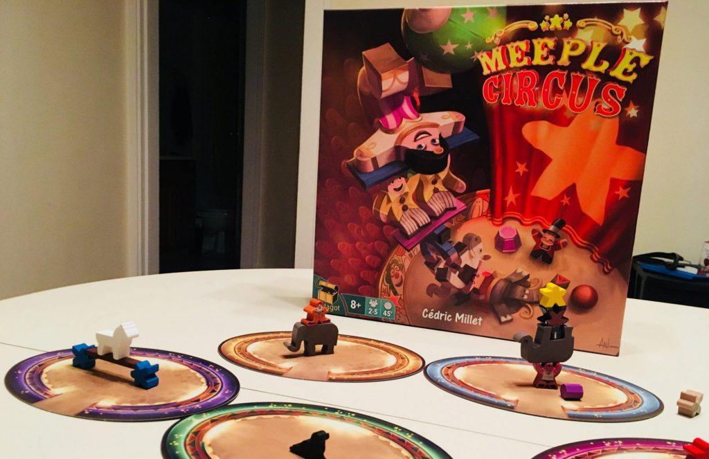 Four Ring Circus Game
