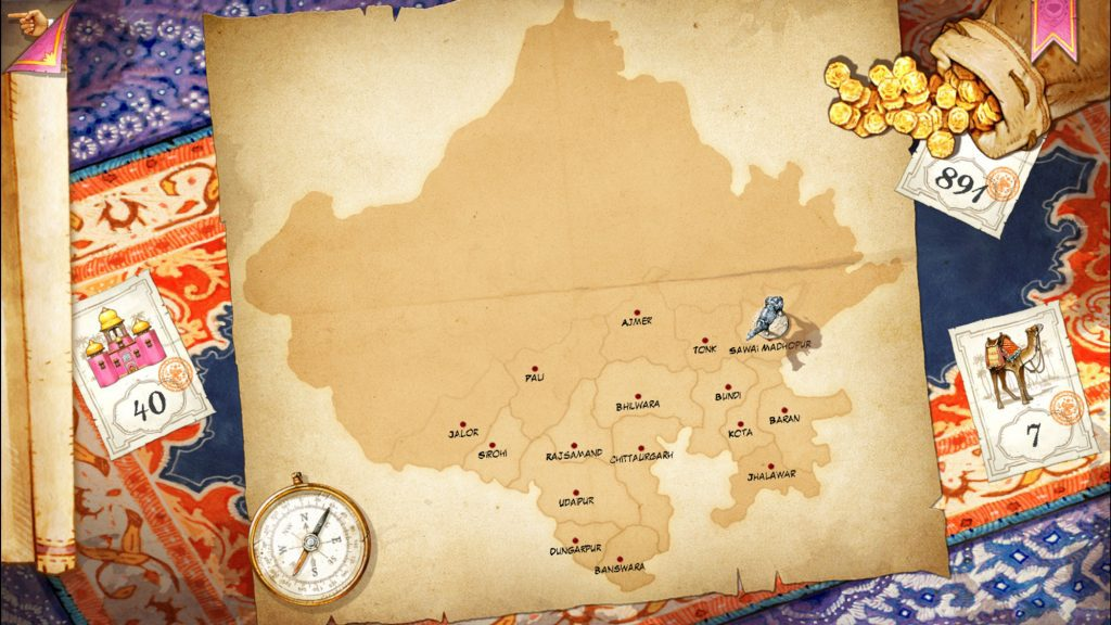Jaipur campaign map