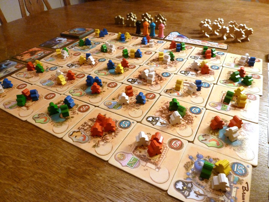 Five Tribes setup