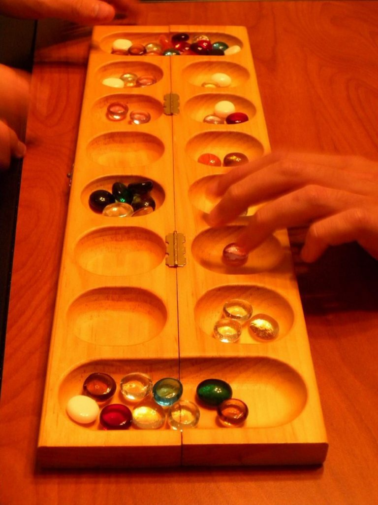 mancala in progress