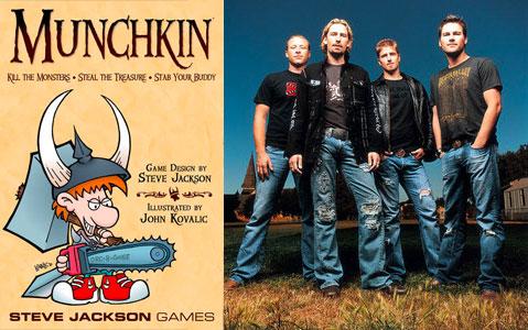 Munchkin <--> Nickelback