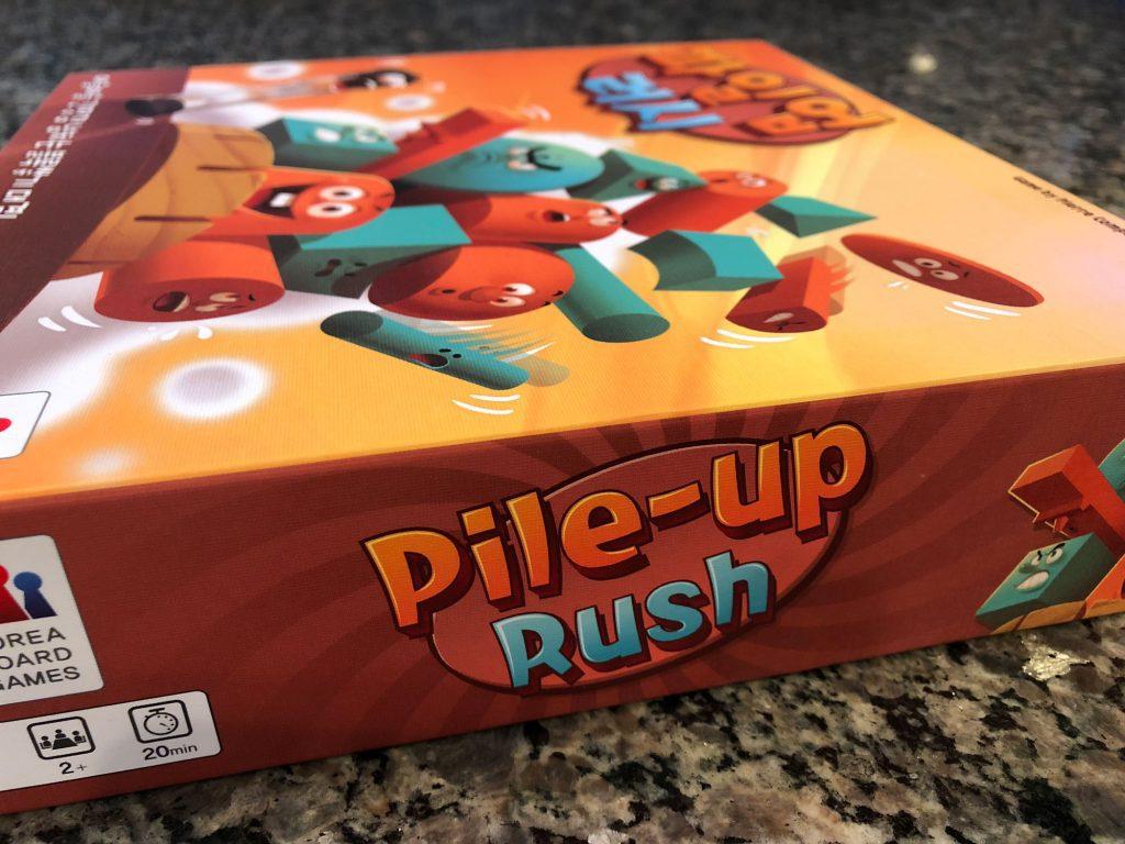 Pile-up Rush box in English